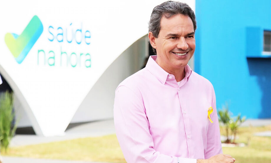 O atual prefeito Marcos Trad (PSD)