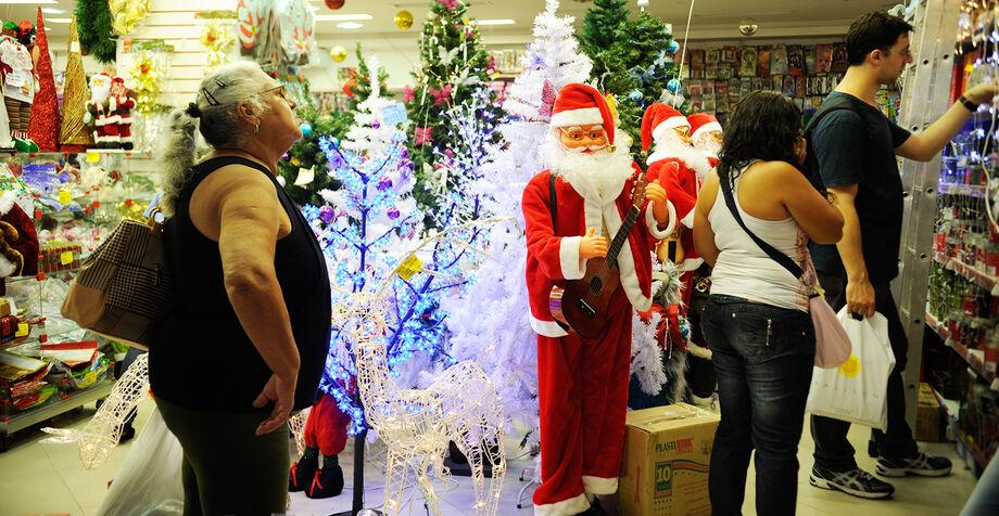 Natal é considerado a melhor época para o comerciante