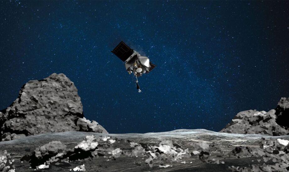 A espaçonave está programada para retornar para a Terra em 24 de setembro de 2023