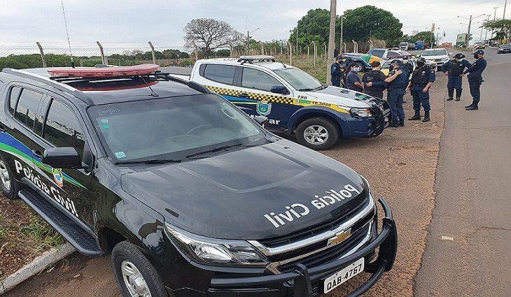 O Exército Brasileiro, a Marinha do Brasil, a Polícia Rodoviária Federal, a Polícia Federal e a ANTT também estão envolvidos