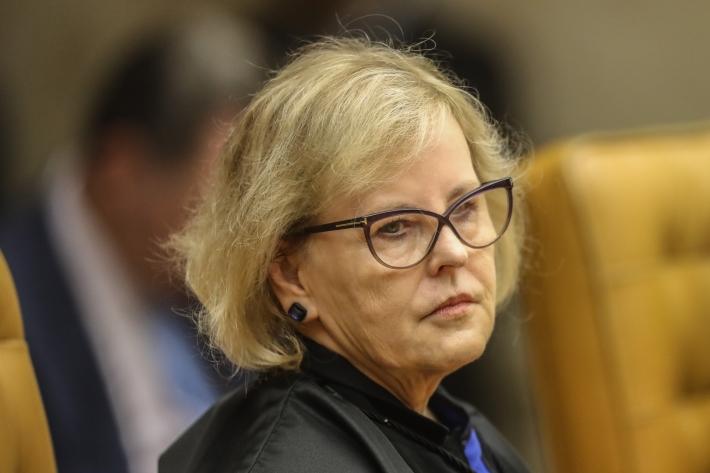 A ministra do Supremo Tribunal Federal, Rosa Weber