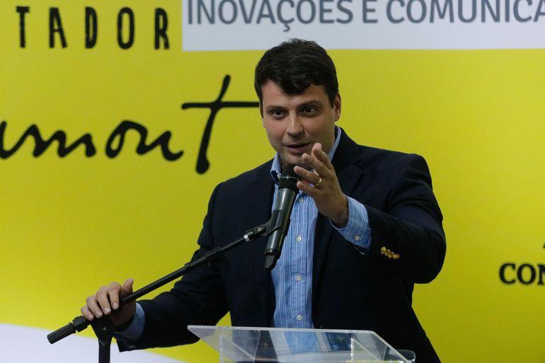 O prefeito Bernardo Rossi (PL)