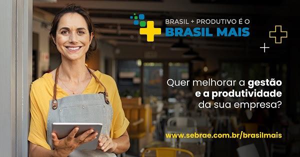 O Sebrae/MS está selecionando 1.000 empresas de Mato Grosso do Sul para receberem consultorias do programa Brasil Mais, que visa aumentar a produtividade