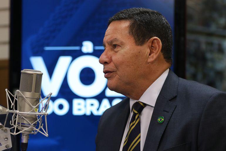 Hamilton Mourão, vice-presidente da República