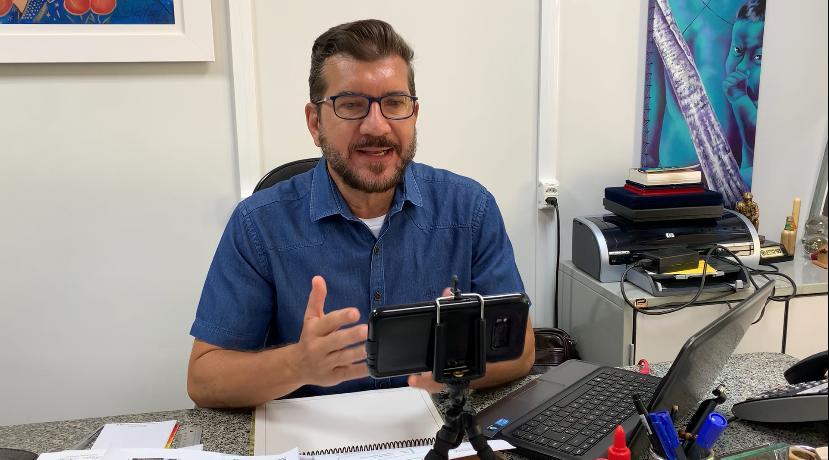 O deputado estadual Pedro Kemp (PT-MS)