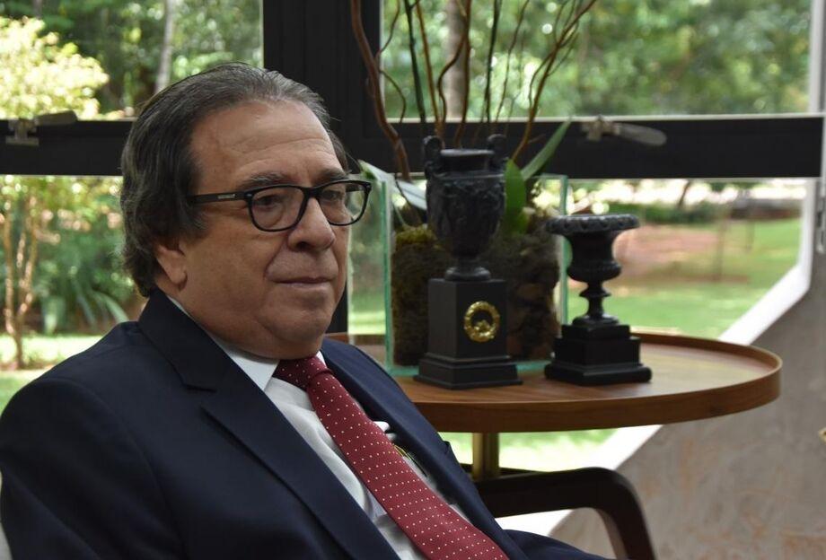 Iran Coelho das Neves,  presidente do Tribunal de Contas do Estado de Mato Grosso do Sul