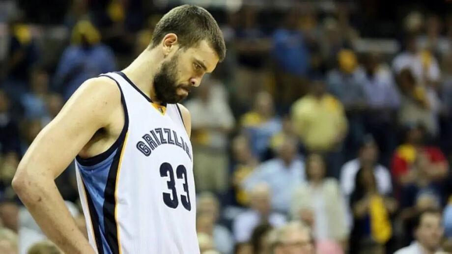 Marc Gasol foi trocado pelo Memphis Grizzlies com o Toronto Raptors