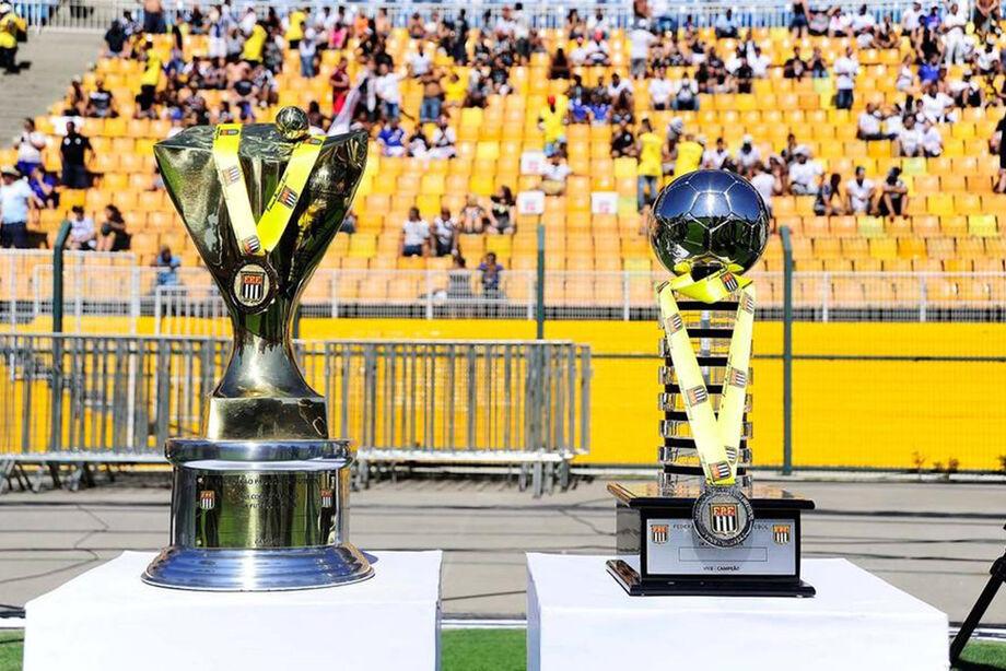 Os troféus da Copa São Paulo
