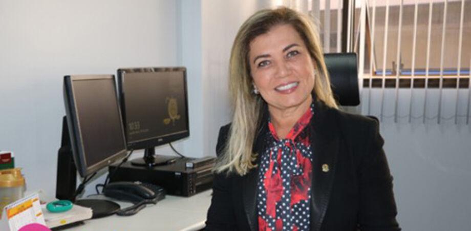 A juíza Sueli Garcia