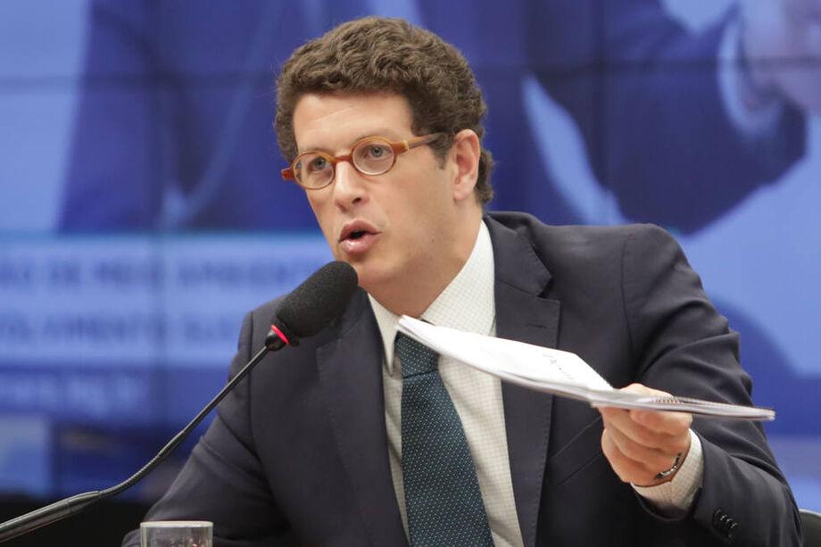 O apagão de informações não atingiu iniciativas que o  ministro Ricardo Salles pretende implantar