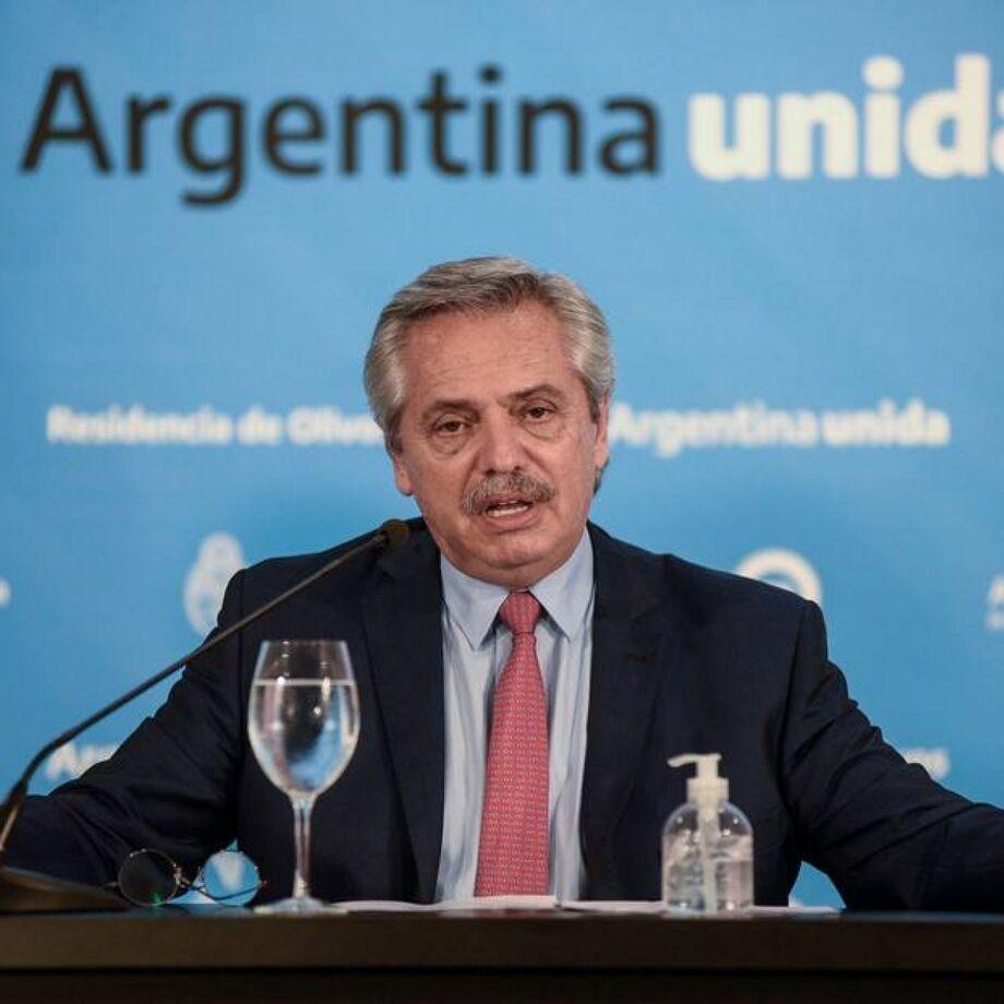 Presidente da Argentina, Alberto Fernández, fará reunião com Bolsonaro