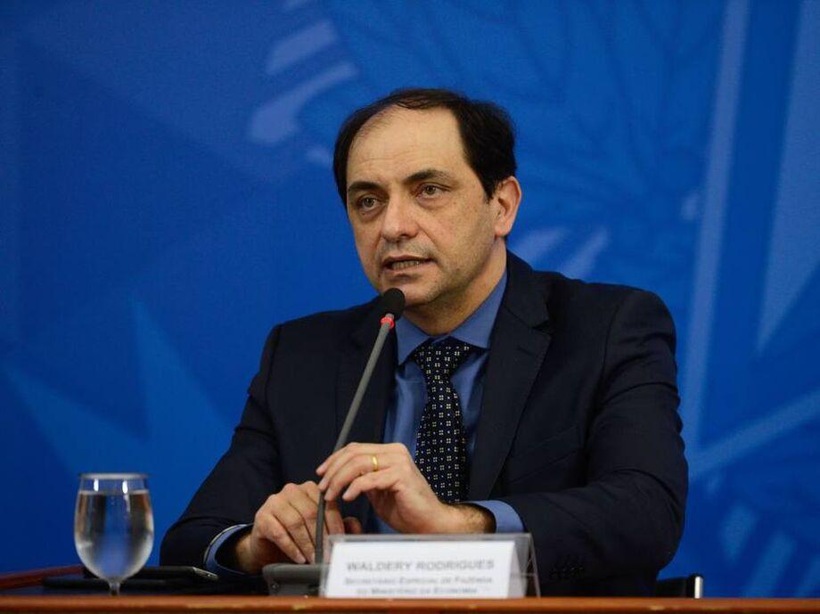 O secretário especial de Fazenda do Ministério da Economia, Waldery Rodrigues