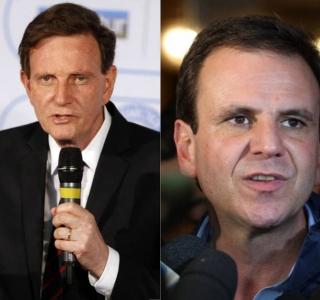 No Rio, Datafolha mostra Paes com 68% dos votos válidos e Crivella com 32%