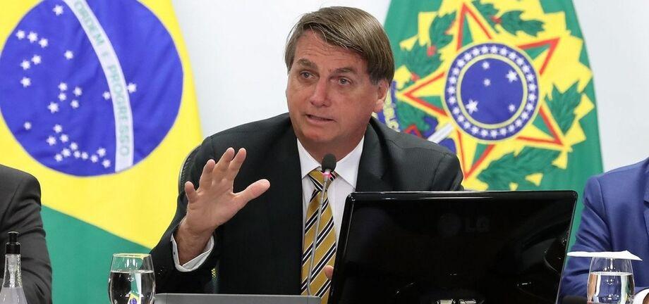 O presidente Jair Bolsonaro