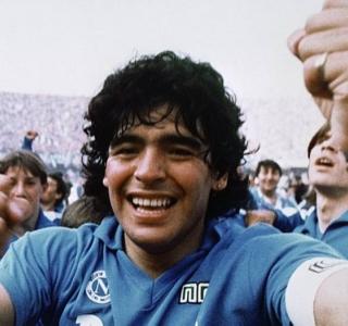 Maradona fez história com a camisa do Napoli