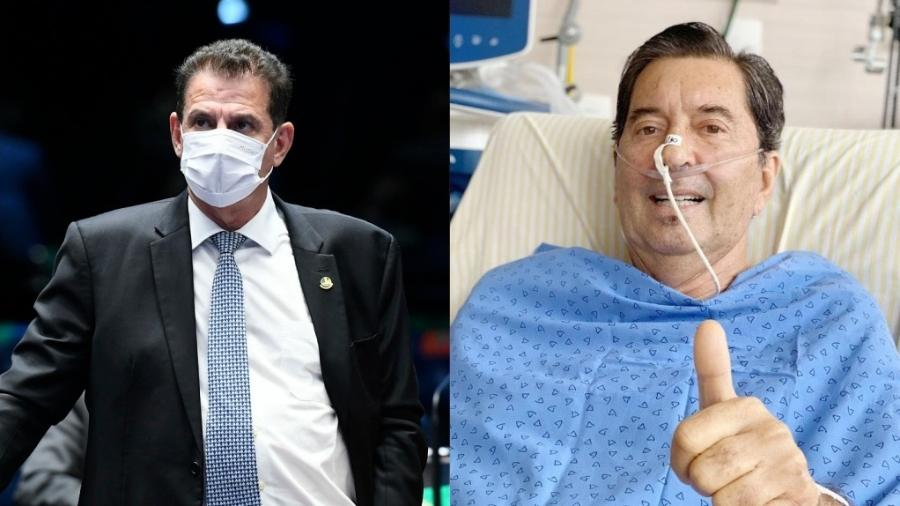 Vanderlan Cardoso (PSD) e Maguito Vilela (MDB), adversários no 2º turno da eleição para prefeito de Goiânia (GO)