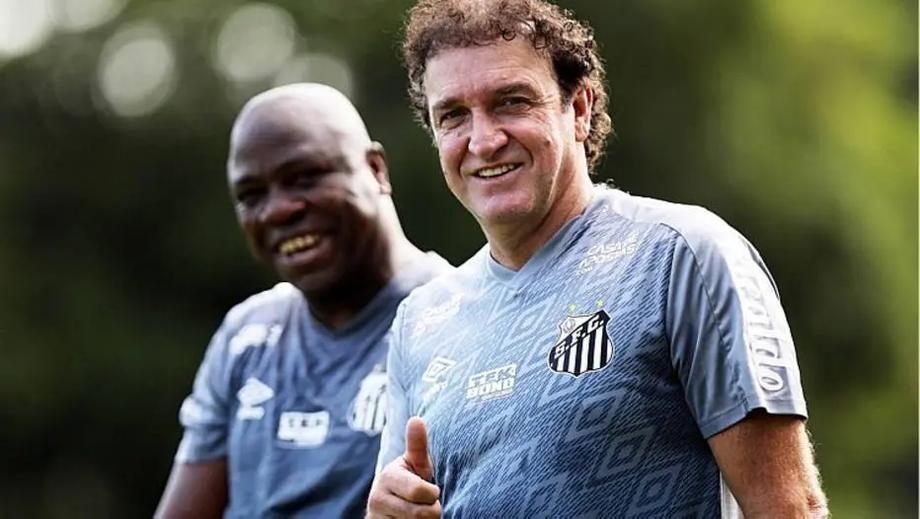Cuca comanda o treino do Santos nesta quinta-feira