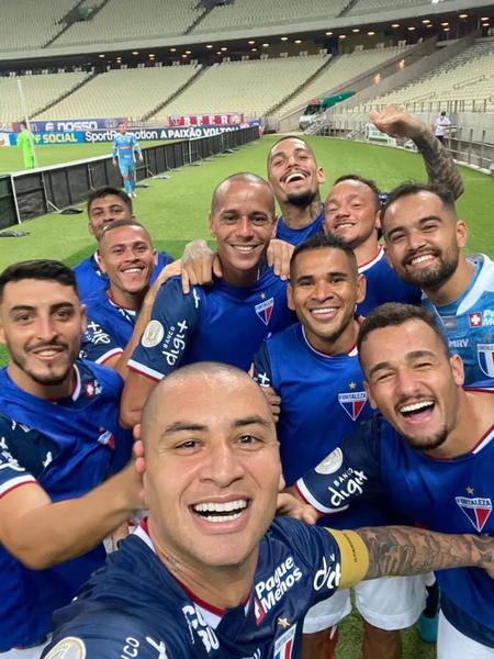 Wellington Paulista marcou seu 100º gol no Campeonato Brasileiro e evitou a derrota do Fortaleza