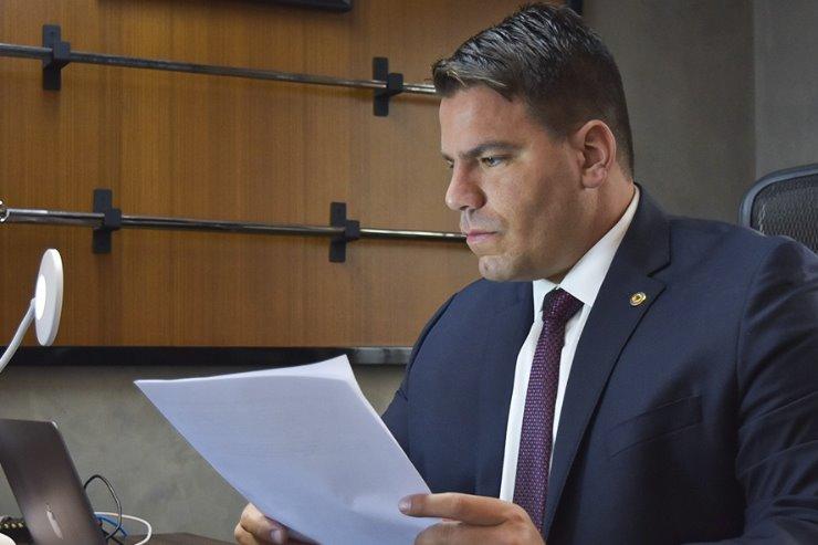 O deputado estadual Capitão Contar (PSL)