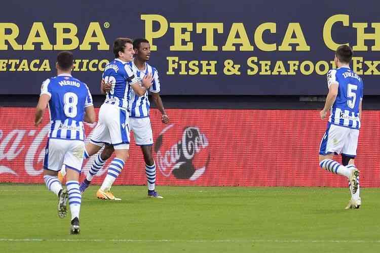 Real Sociedad garantiu a vitória por placar mínimo