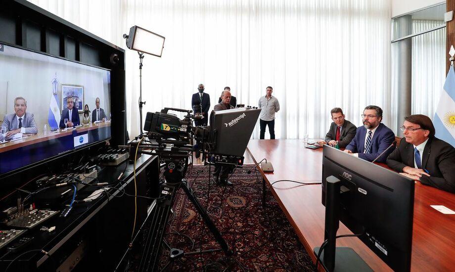 Encontro foi realizado hoje por videoconferência