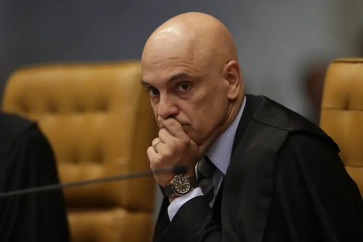 O ministro Alexandre de Moraes, do Supremo Tribunal Federal.