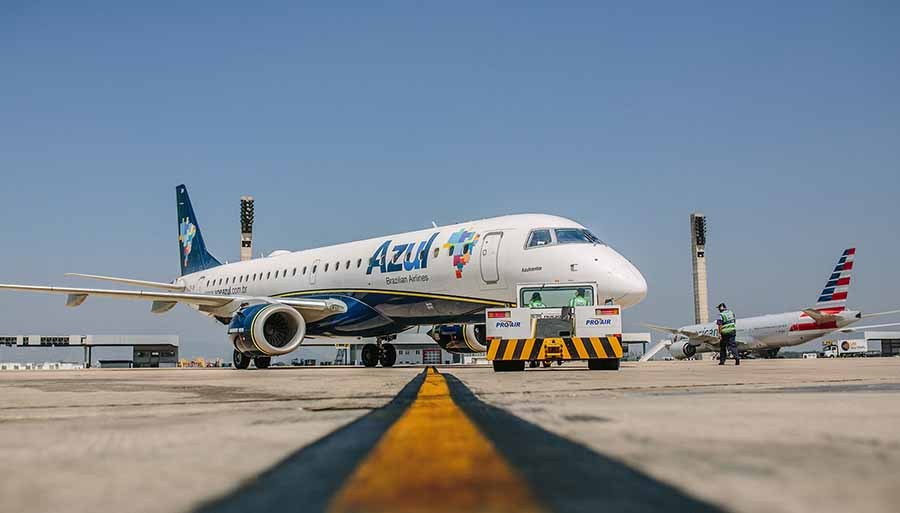 Azul volta a operar no Galeão em janeiro e lança 3 voos no Rio durante o verão