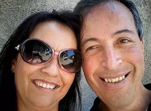 Shirlei Pires e Paulo Sérgio Calábaria se conheceram no Coroa Metade