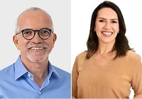 Edvaldo Nogueira (PDT) e Delegada Danielle (Cidadania) disputam o 2º turno em Aracaju