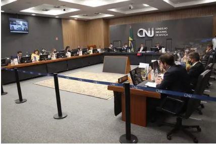 O Plenário do Conselho Nacional de Justiça, em Brasília