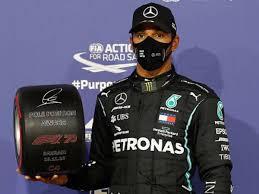 No Bahrein, Hamilton supera Bottas e Verstappen e conquista 98ª pole na Fórmula 1