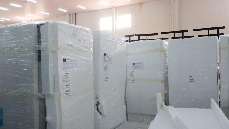 Novos mobiliários médico-hospitalares também foram adquiridos para substituir móveis mais antigos