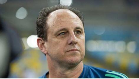 O técnico Rogério Ceni