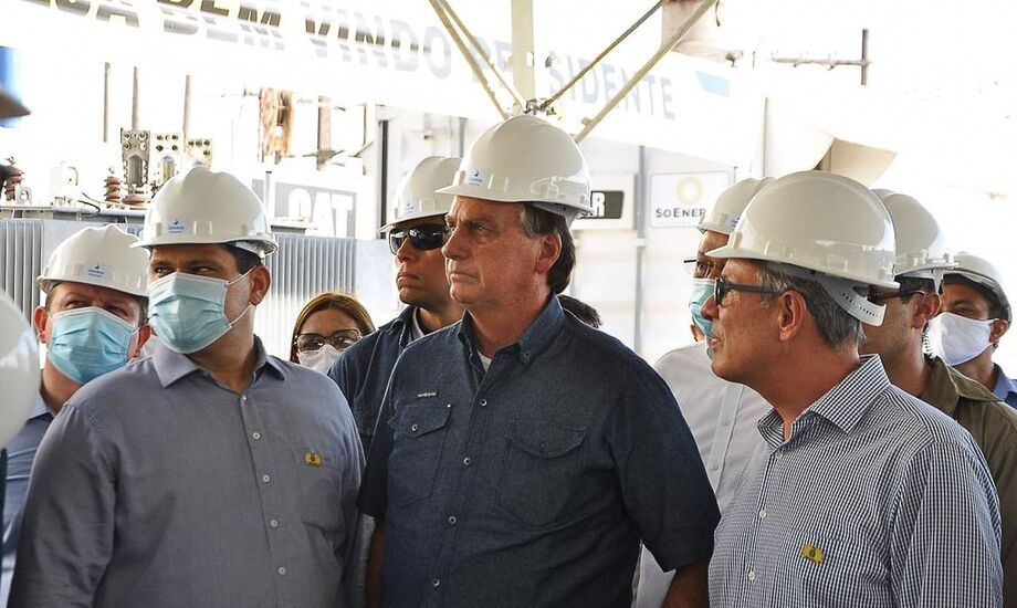 No sábado, o presidente visitou a região, que sofre com apagão há 20 dias