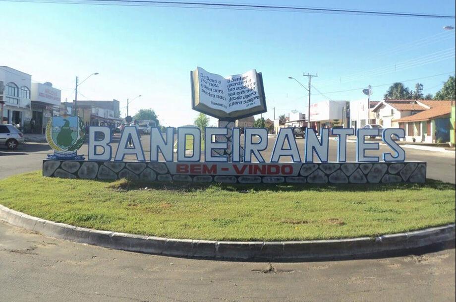 O município de Bandeirantes
