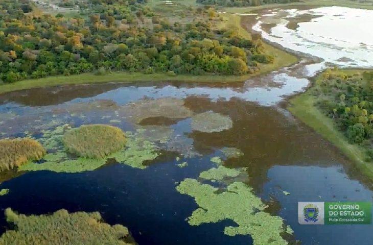 Governo publica georreferenciamento do Parque Estadual do Pantanal do Rio Negro