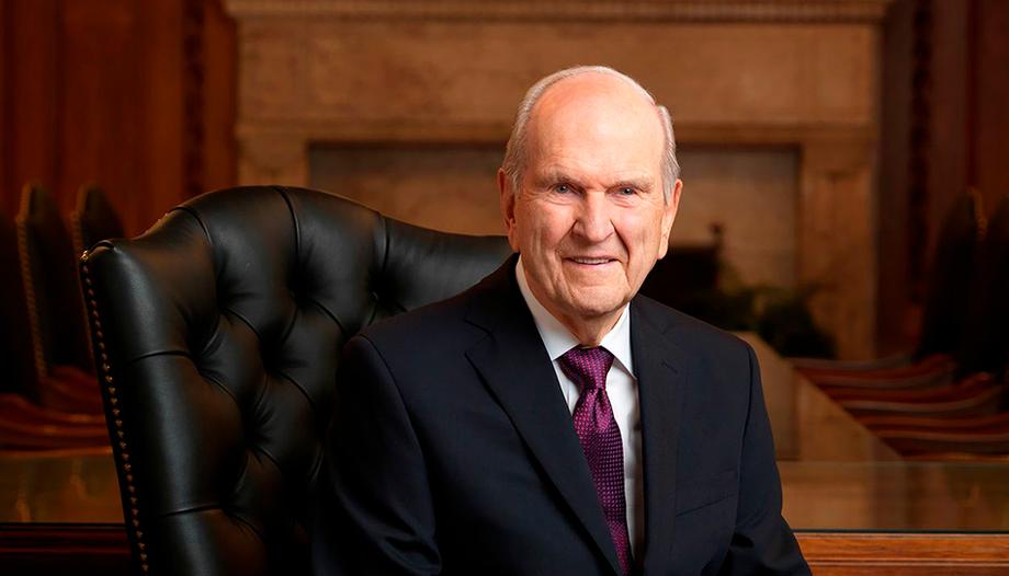 Russel é presidente de A Igreja de Jesus Cristo dos Santos dos Últimos Dias