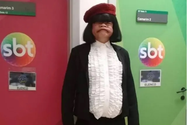 O humorista Rodela já participou de diversos programas do SBT