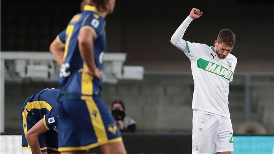 Sassuolo ganha e assume ponta provisória na Itália; Roma e Inter de Milão vencem.