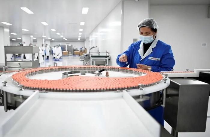 O laboratório da fabricante de vacinas Sinovac Biotech em Pequim, China