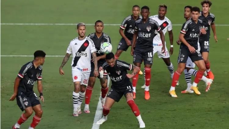 São Paulo e Vasco empatam no Morumbi