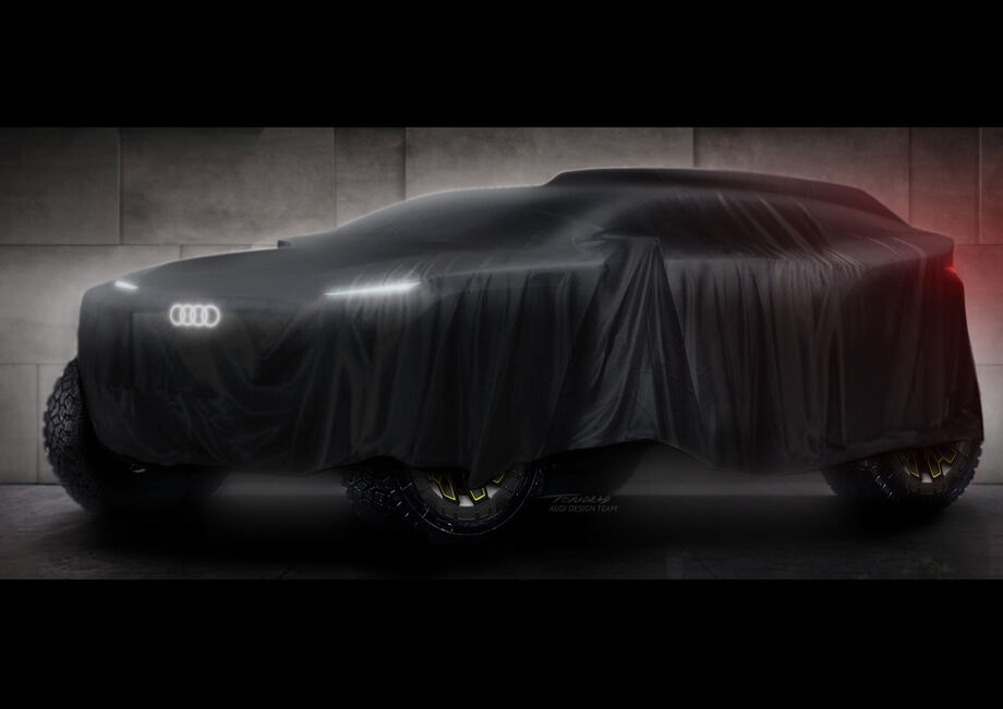 Teaser do Audi Dakar 2022