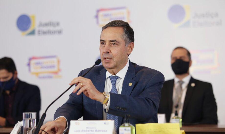 O ministro Luis Roberto Barroso disse que as eleições deste ano foram um sucesso