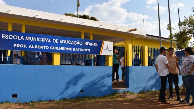 A educação, em Campo Grande, registrou conquistas e melhorias para profissionais e para alunos da Rede Municipal de Ensino (Reme), desde 2017