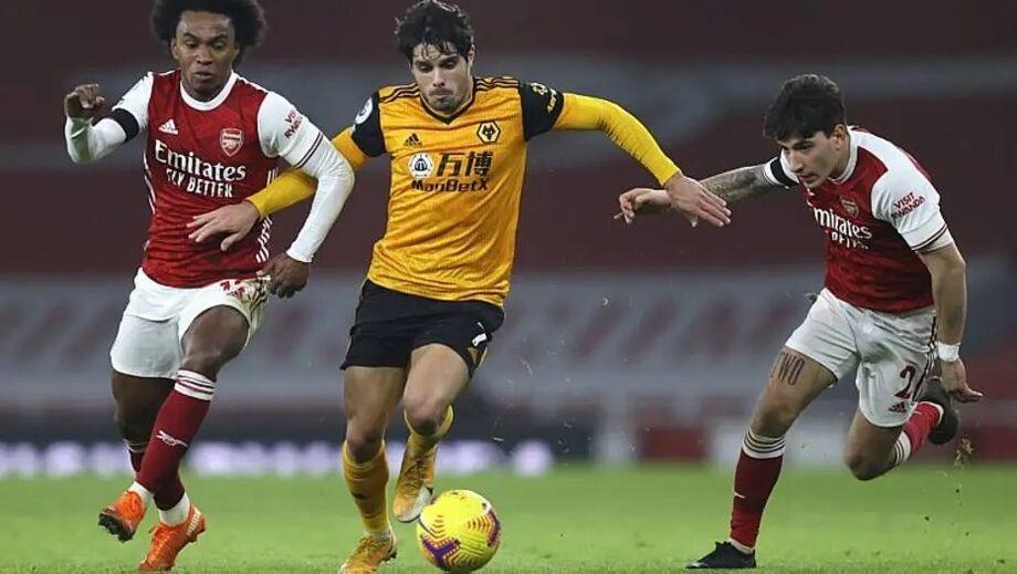 Arsenal e Wolverhmapton se enfrentaram pelo Campeonato Inglês