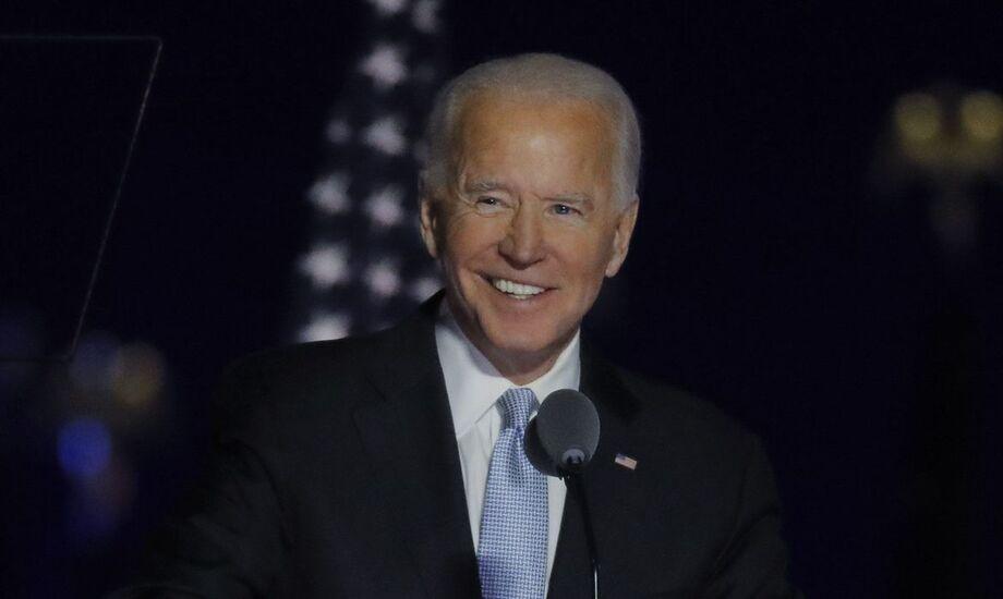 Presidente eleito dos Estados Unidos, Joe Biden