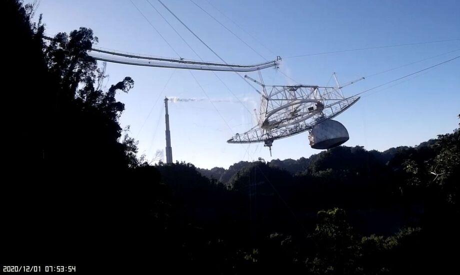 A astronomia perdeu uma de suas mais importantes ferramentas para o estudo do Universo: o radiotelescópio de Arecibo