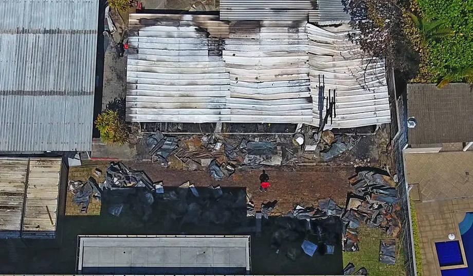 Incêndio no Ninho do Urubu aconteceu no dia 8 de fevereiro de 2019