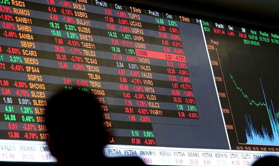 O índice pan-europeu Stoxx 600 fechou o dia em queda de 0,77%, a 390,12 pontos
