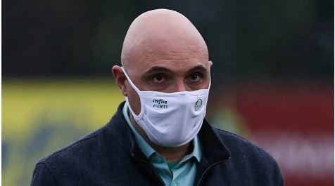 Mauricio Galiotte, presidente do Palmeiras